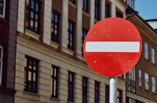 Stop sign for privacy policy in CCPA section